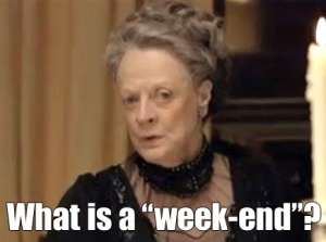 maggie smith weekend