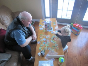 Puzzles with Uncle Louis