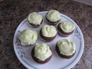 My frosting job was not perfect, but there is always room for improvement